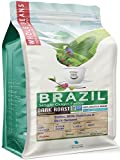 32 Ounce (2 LB) Dark Roast Brazil Coffee, Low Acidity all Natural, NON-GMO Single Origin Whole Bean Coffee Notes: Rich Dark Caramel, Milk Chocolate and Sweet Toffee - CoffeaFarms by Coffeeland
