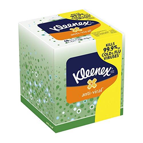 Kleenex AntiViral† Facial Tissues 68 ct Pack of 27