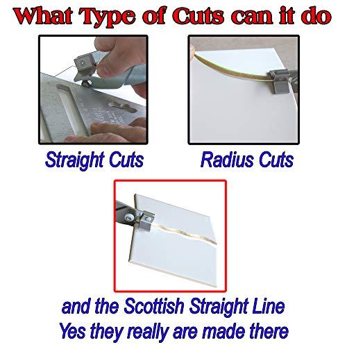 The Amazing Tile And Glass Cutter Cut Shapes in Ceramic Tile and Glass Tiles Straight curved or wiggly Lines or run up a guide for straight Cuts