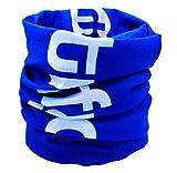 trifyd ® - Bandana Tour de Cou Multifonction sans Coutures Bleu pour Le Cyclisme, Running, randonnée, Ski, pêche (1 pièce)