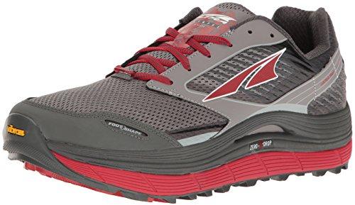 Altra Men's Olympus 2.5 Running-Shoe, Black/Red, 8