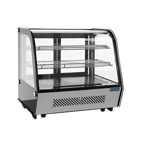 Polar CD230 mostrador refrigerado pantalla Merchandiser,