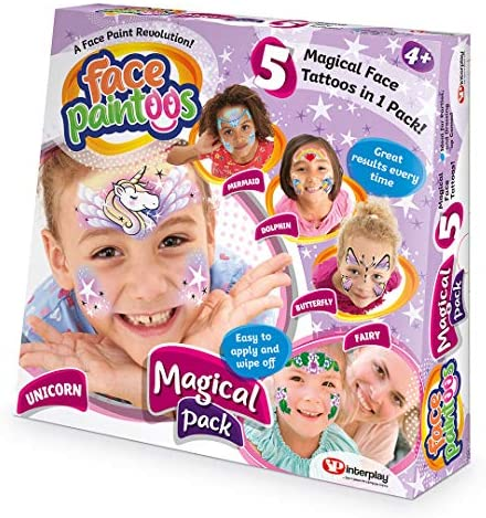 Face Paintoos FP001 Wild Pack Face Paint, Multi