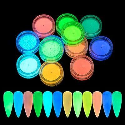 QIMEIYA 12 colores Polvo