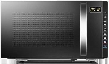 NIHAOA Barbacoa Microondas Microondas combinación con Mejorado Easy Clean Esmalte de la cavidad del hogar Vapor Horno Pequeña máquina Plana multifunción