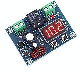 Batteriewächter DC 12V-36V, Batterie-Niederspannungs-Abschaltschalter,Programmierbarer Unterspannungsschalter, Überentladungsschutz, Abschaltautomatik