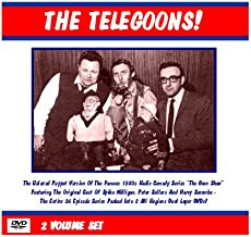 The Telegoons DVD Set Goon Show Puppet TV Series 2 Discs