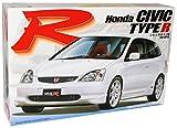 Fujimi Hon-da Civic Type-r 2001-2006 7. Generation Weiss Bausatz Kit 1/24 Modellauto Modell Auto