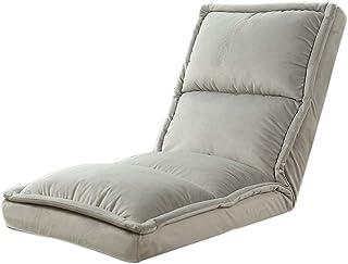 TXXM Lazy Divano per il tempo libero pieghevole singolo schienale reclinabile dormitorio camera da letto letto Computer se...