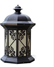 Retro buiten waterdicht roestvrij staal CVilla Hotel Gate muurkolom hoofdlamp