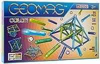 Un piccolo formato per una grande immaginazione. La scatola include 91 include 42 sfere, 44 barrette in azzurro, verde chiaro, verde scuro, blu, 2 piattaforme quadrate e 3 pentagonali Geomag è il gioco di costruzione magnetico più famoso al mondo, co...