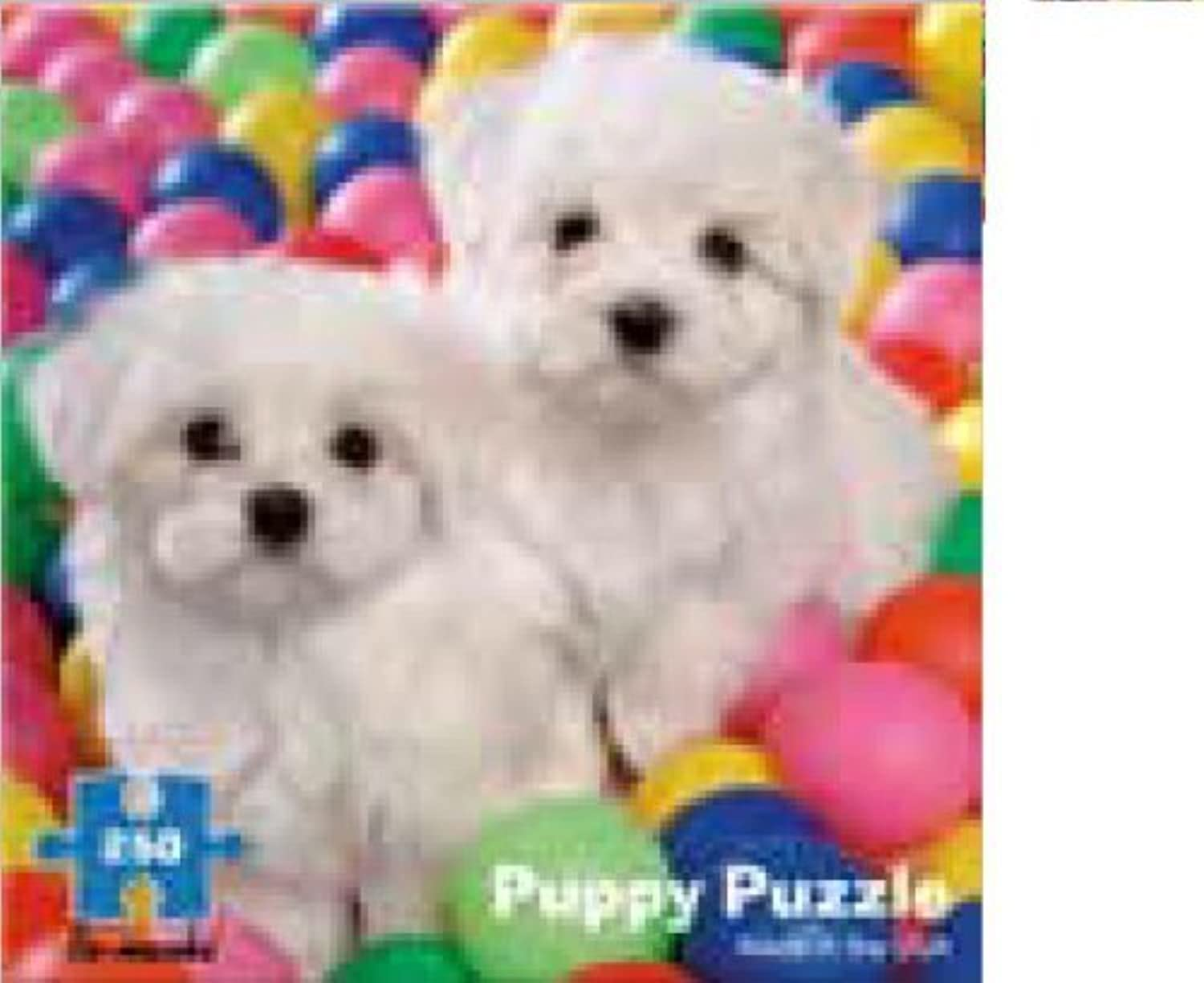 250 Piece Puppy in Ball Pit Puzzle by ReMarks