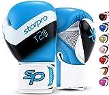Starpro T20 Guantes de Boxeo de Cuero de PU para Entrenamiento y Sparring en Muay Thai Kickboxing Fitness -...