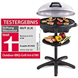Cloer 6789 Barbecue-Grill, Standgrill mit integriertem Thermometer, Stiftung Warentest 05/2020, 2400...