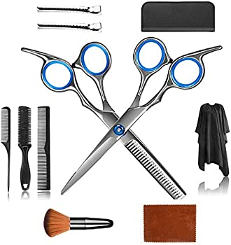 11-Piec UPEOR Hair Cutting Scissors Set