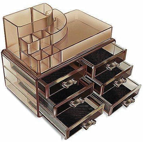 Acrylic Cosmetics Discount Seasonal Wrap Introduction is also underway Organizer Dark Colored Box Functi Makeup Multi
