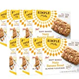 Simple Mills Soft-Baked Nutty Banana Bread Almond Flour Bars, 6 Count