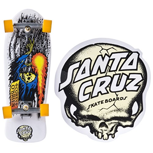 Tech Deck - Classic Series - Santa Cruz - White
