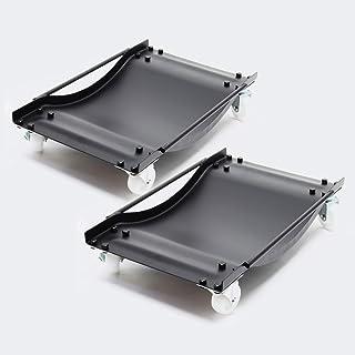 Multi rangeerhulp auto transportschaal 1 paar rangeerrollers rangeerkrikken rangeerplank 450 kg