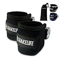 [EXTRA STRONG] Premium foot straps (2 pieces) - Padded - Perfect for leg training on the cable pull - Free carrying bag - Flexibly adjustable for every workout and your butt training