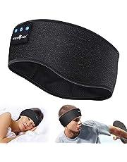 Sovande Hörlurar Bluetooth V5.0 Sleep Headphones Populär Gåva, Sport Pannband Hörlurar Trådlösa med Ultratunna HD Stereohögtalare,Födelsedagspresenter Till Honom/Henn för Löpning Sidosovare Resa