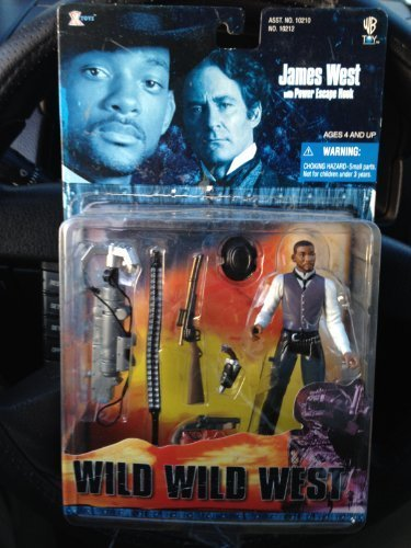 Wild Wild West:The Movie Will Smith As James West with Power Escape Hook by 1999 Xtoys, Inc.