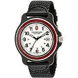 Victorinox Men's 249085 Original XL Swiss Quartz Watch With Black Nylon Band