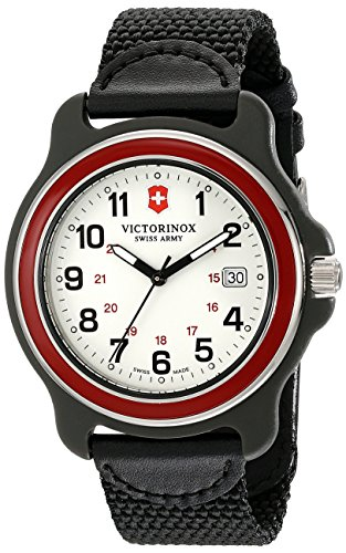 Victorinox Men's 249085 Original XL Swiss Quartz Watch With Black Nylon Band