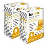 Tosnon® complex 3.100 mg. 15 stick. con miel, acerola, tomillo, hierba luisa, gordolobo, llanten, eucalipto y biotina. (Pack 2 unid.)
