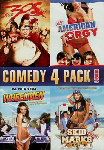 Comedy 4 Pack: Vol 1 (305, All American Orgy, Wheelmen, Skidmarks)