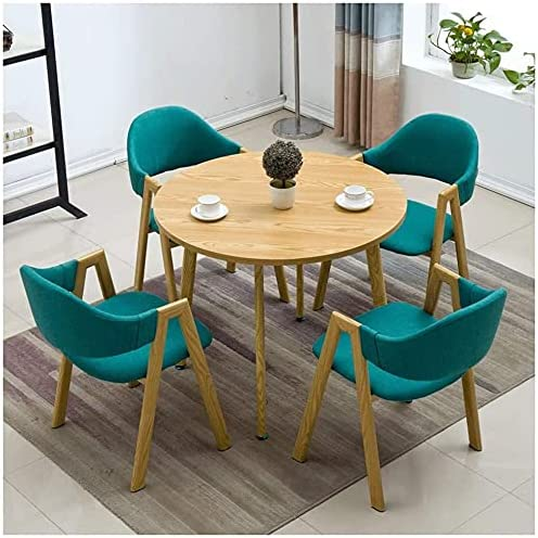 Round Dining Table and Res Max 76% OFF Chair Western New product type Set