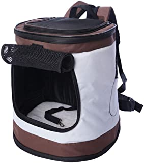Cages, Crates & Carriers Cat Space Capsule Pet Out Backpack Mesh Breathable Cat Litter Chest Outfit Cat Bag Multi-Function...