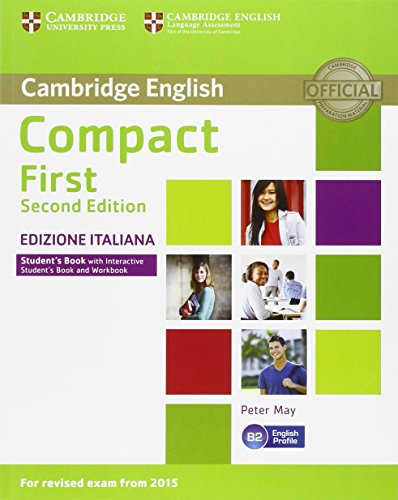 Compact First. Second Edition. Student's Book without Answers and Interactive Book [Lingua inglese]