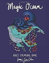 Magic Ocean: A Creative Adult Coloring Book