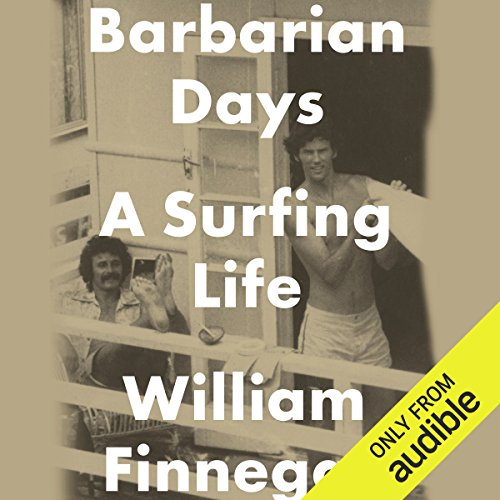 Barbarian Days audiobook cover art