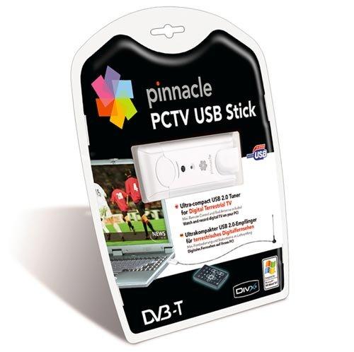 Pinnacle PCTV Hybrid Pro Stick KX – DVB-T Receiver/Analog TV-Tuner – Hi-Speed USB – SECAM, PAL