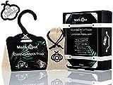 MothOut – Pheromone ropa polillas pegajosa trampa. Armario, muebles y alfombra protección. no tóxico, respetuoso con el medio ambiente, mascotas y seguro para humanos. Repelente natural, caja de 10