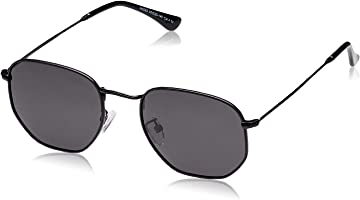 Hikaro Amazon Brand Polarized Pilot Sunglasses, UV Protection