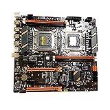 X79 Dual CPU Motherboard LGA 2011 E-ATX Main Board USB3.0 SATA3 PCI-E 3.0 16X PCI-E NVME M.2 SSD Support for Xeon Processor