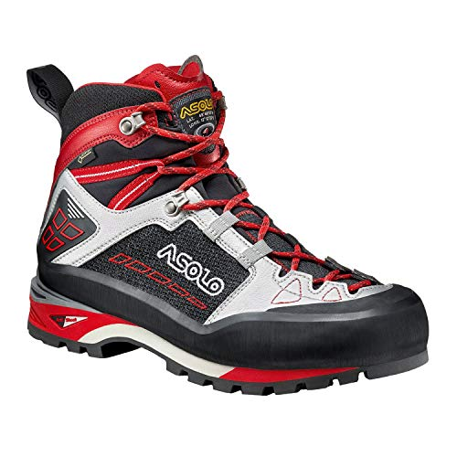 Asolo Freney Mid Gv Walking Boots 47 EU Black Silver