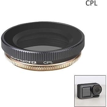 UV Filtre de lentille de cam/éra Compatible avec DJI Osmo Action Camera Freewell IR