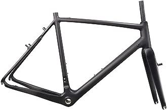 IMUST Carbon Fiber Cyclocross Bike Frame with Fork V-Brake Cantilever Brake Frameset AC108