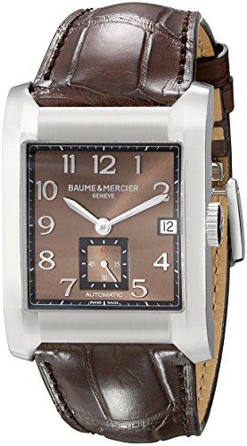 Baume & Mercier Bau-8213 - Reloj de pulsera hombre, piel