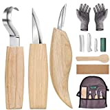 Wood Carving Tools Set, 8 in 1 Wood Carving Tools Kit for Beginners-Carving