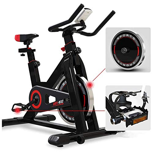 Buy CCDV Magnetic Recumbent Bike with Adjustable Resistance and Transport Wheels,Indoor Cycling Bike...