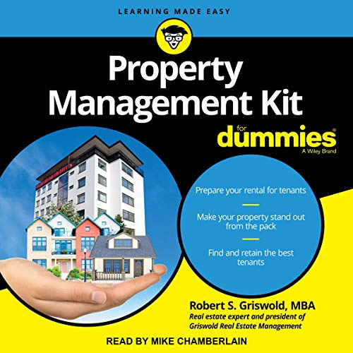 Property Management Kit for Dummies cover art