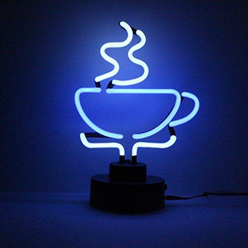 Icon Neon Kaffee Tee Tasse Echt Neon Beleuchtung mehrfarbig