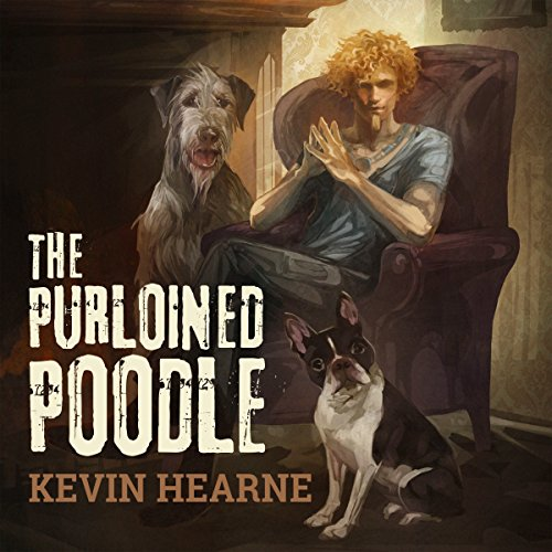 The Purloined Poodle audiobook cover art