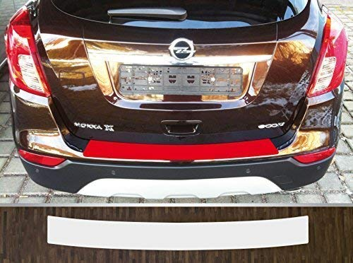 passgenau für ***Opel Mokka X***, ab 2016, Lackschutzfolie Ladekantenschutz transparent