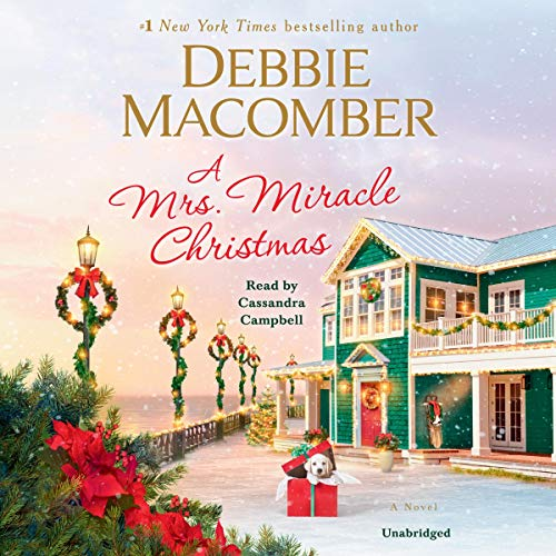 A Mrs. Miracle Christmas audiobook cover art